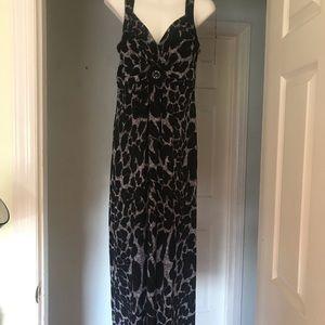 EN Focus Leopard Maxi Dress